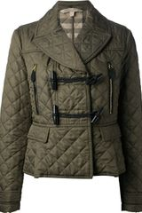 Burberry Brit Quilted Duffle Coat - Lyst
