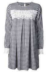 Chloë Sevigny For Opening Ceremony Gingham Print Dress - Lyst