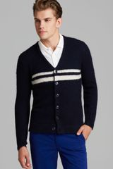 Gant Rugger The Rua Striped Cardigan - Lyst