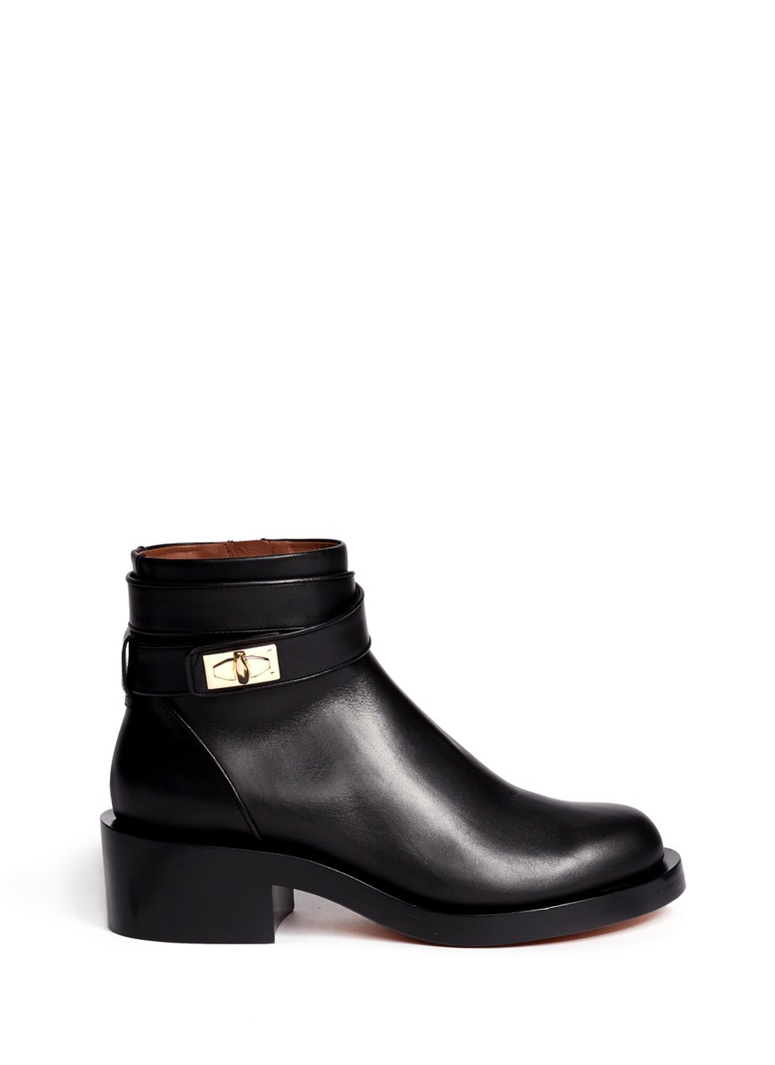 Bottines « Dents De Requin » Givenchy - Noir KcgqWifv4