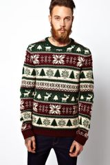 Asos Holiday Sweater - Lyst