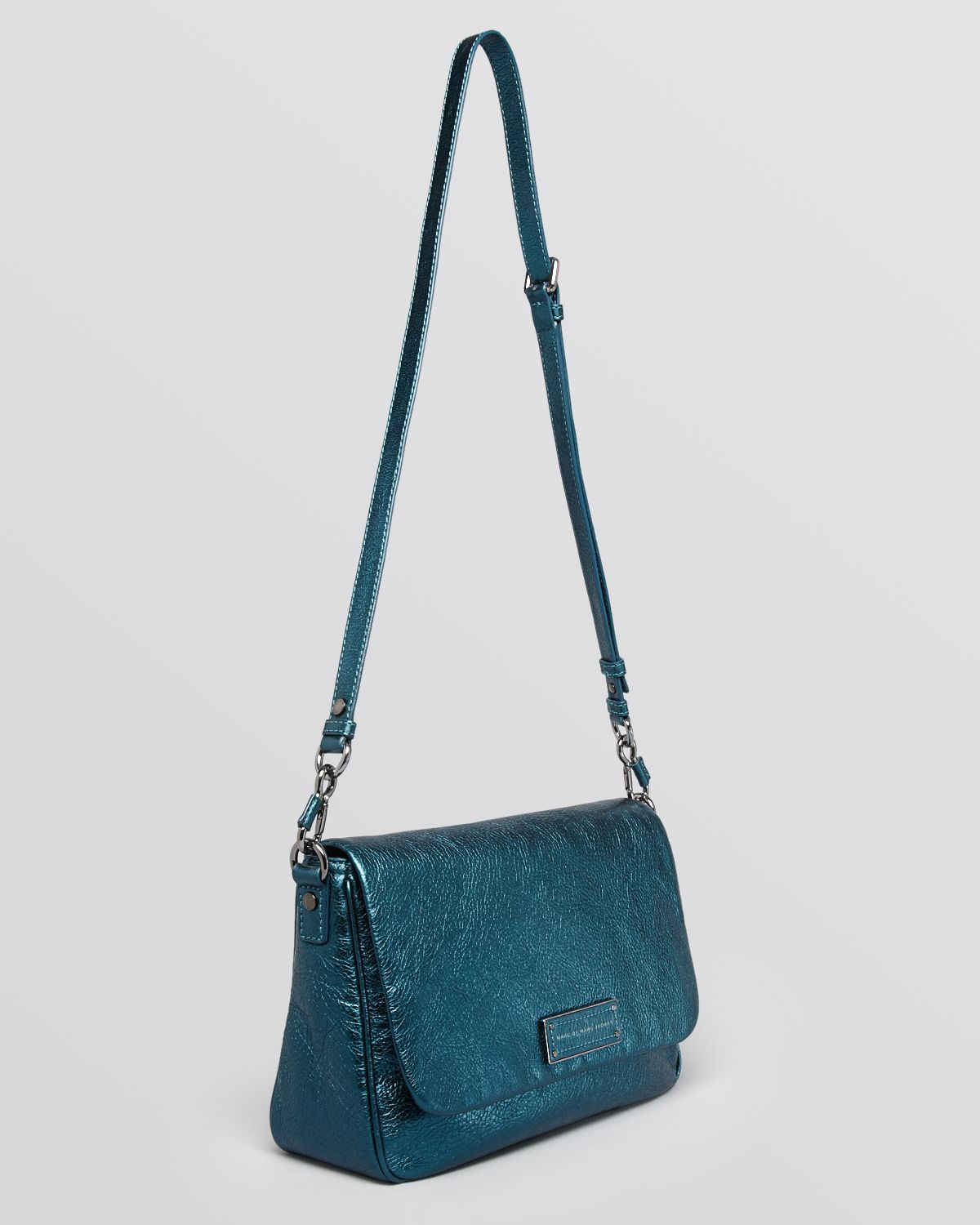 89e154f7dfad Marc By Marc Jacobs Crossbody Too Hot To Handle Metallic Lea in Blue ...