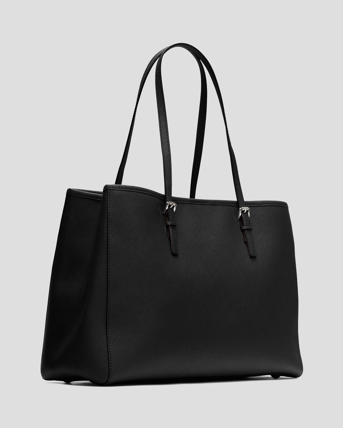 f77fc8be7658 MICHAEL Michael Kors Tote Jet Set Travel Large East West in Black - Lyst