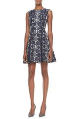 Nanette Lepore Love Bites Snakeprint Dress - Lyst