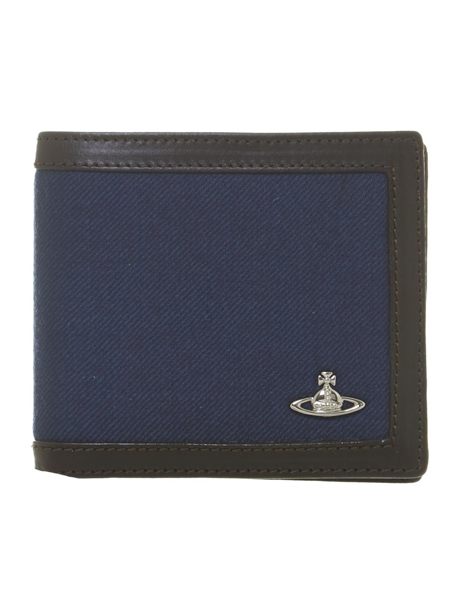 Lyst Vivienne Westwood Tartan Billfold Wallet In Blue