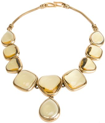 Yves Saint Laurent Vintage Reversible Necklace - Lyst