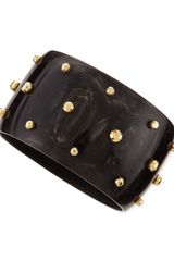 Ashley Pittman Studded Anga Bangle  - Lyst