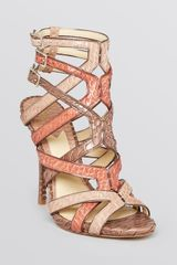 B Brian Atwood Sandals Carbinia High Heel - Lyst