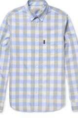 Burberry Brit Slimfit Check Cotton Shirt - Lyst