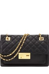 Michael Kors Gia Quiltedtop Flap Shoulder Bag - Lyst