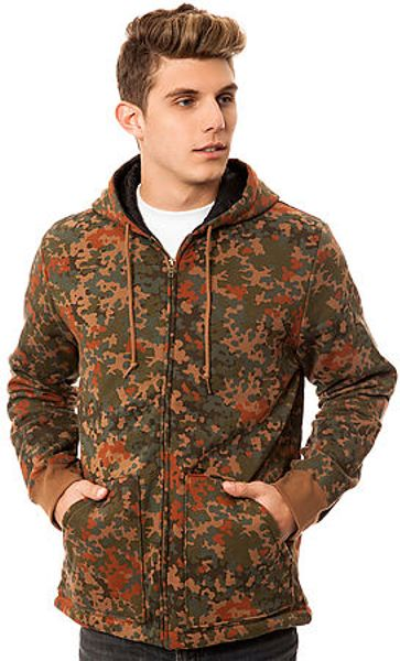 Obey The Grind Jacket In Brown For Men Blotch Camo Lyst