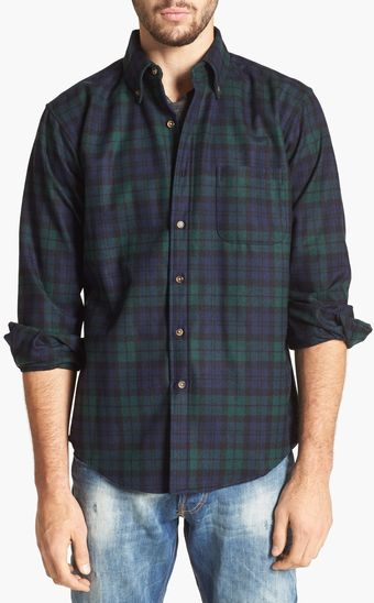 Pendleton Fireside Fitted Plaid Wool Flannel - Lyst