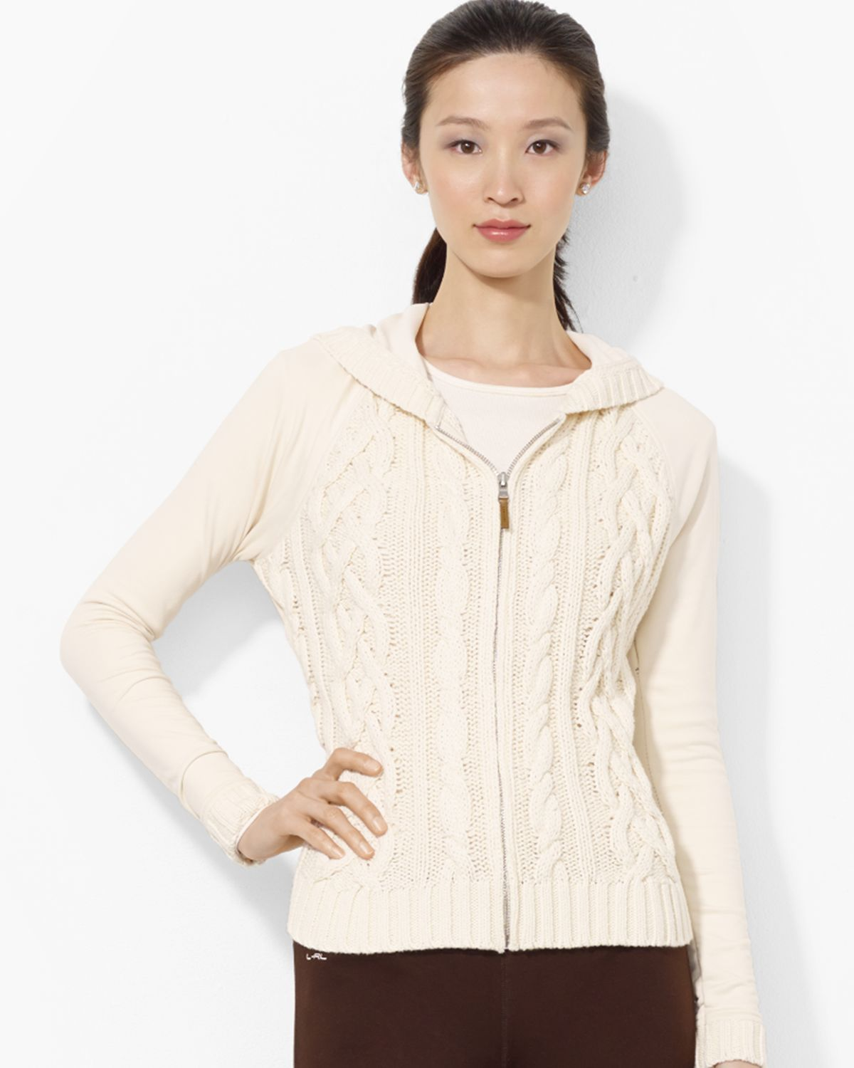 Ralph Lauren Black Label Cashmere Pullover (€520) liked on