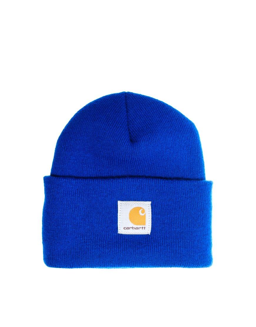 e85aaeae Lyst - Stussy Carhartt Acrylic Watch Beanie Hat in Blue for Men carhartt  beanie blue