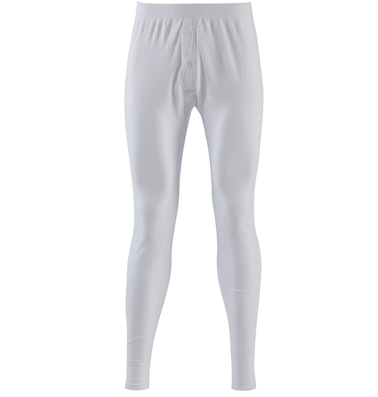 Sunspel Thermal Long John in White for Men | Lyst