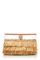 Tory Burch Molly Clutch - Lyst