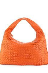 Bottega Veneta Large Veneta Ruffle Hobo Bag  - Lyst