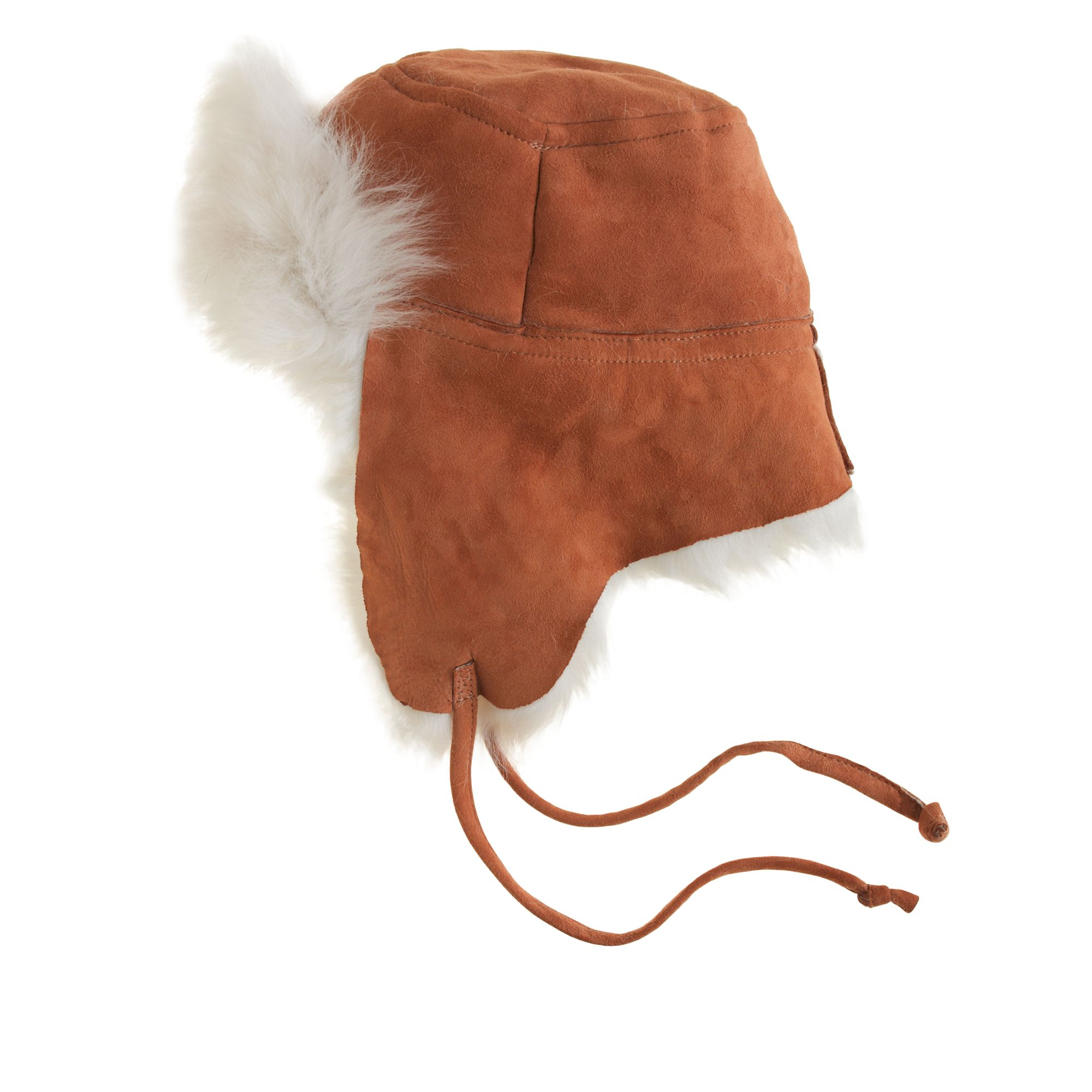 f103ce622b90f J.Crew Toscana Shearling Trapper Hat in Brown for Men - Lyst