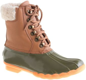 J.Crew Sperry Topsider For Leather Shearwater Boots - Lyst
