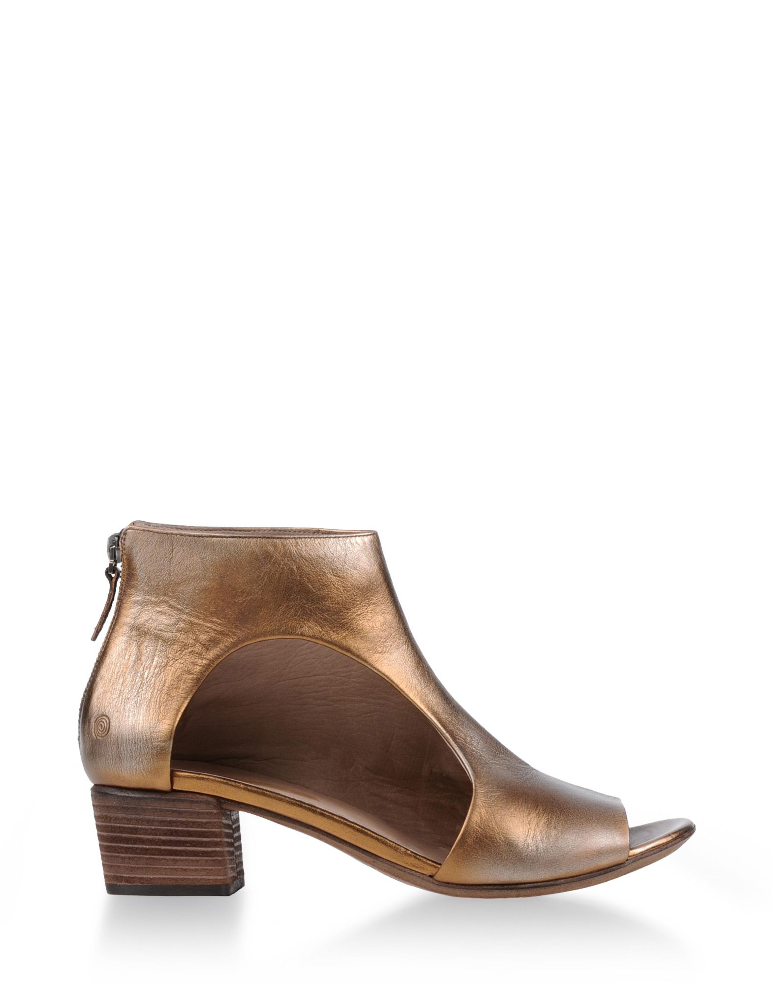 mars 232 ll ankle boots in gold bronze lyst