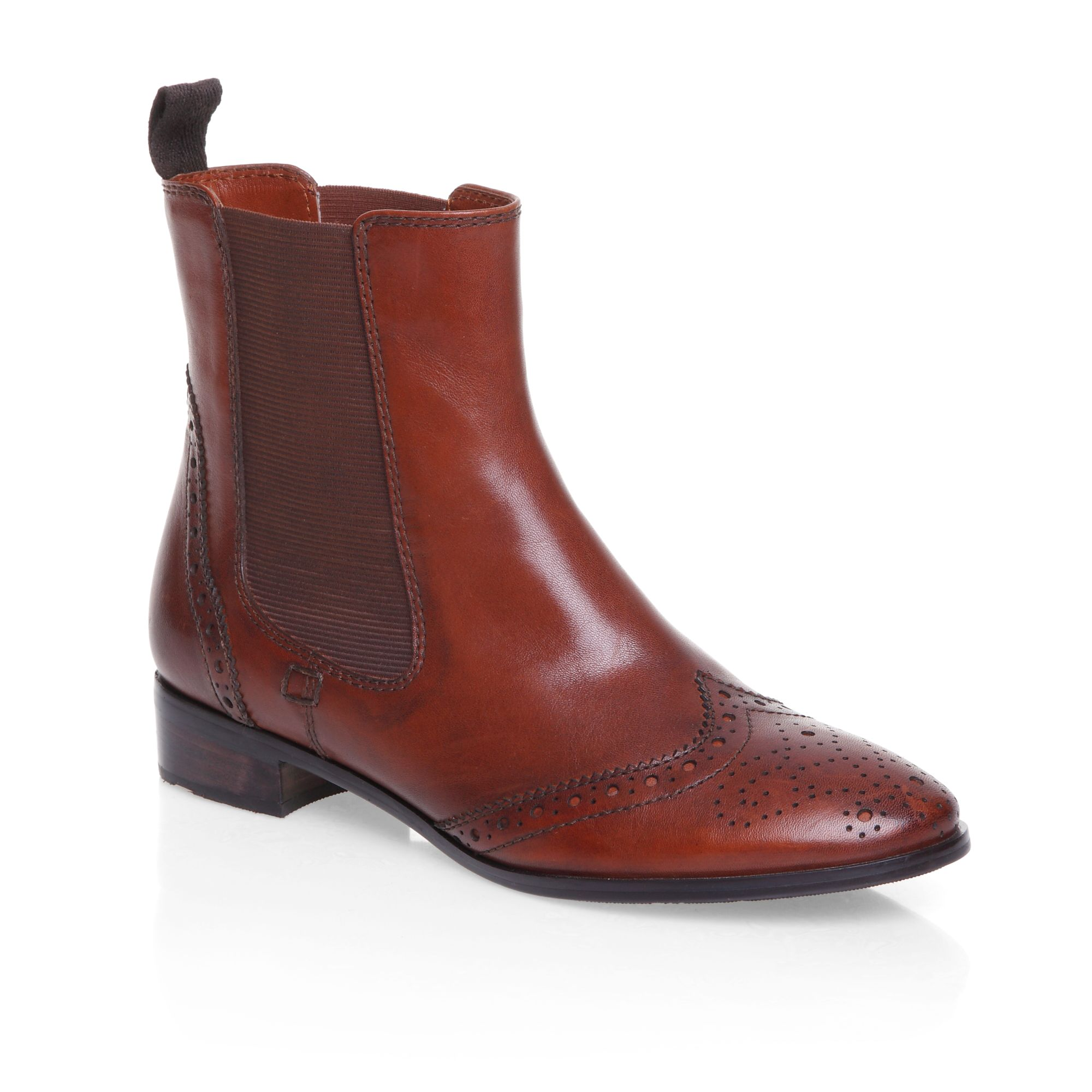 mascotte classic chelsea boots in brown lyst. Black Bedroom Furniture Sets. Home Design Ideas