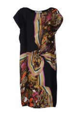 Max Mara Short Dress - Lyst