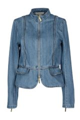 Michael by Michael Kors Denim Outerwear - Lyst