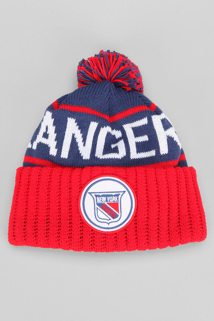 f919765f067 ... discount code for new york rangers knit hat pom ownership d2713 8b702