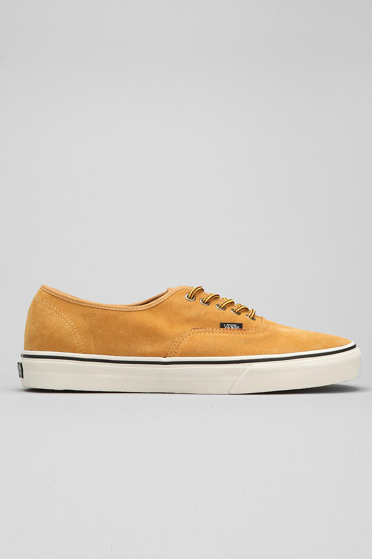 20ce8bc6407 Lyst - Urban Outfitters Vans Authentic Wheat Suede Mens Sneaker in ...