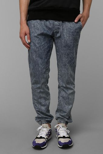 Urban Outfitters Your Neighbors Denim Jogger Pant - Lyst