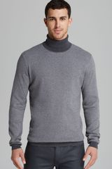 Hugo Boss Sanel Knit Turtleneck Sweater - Lyst