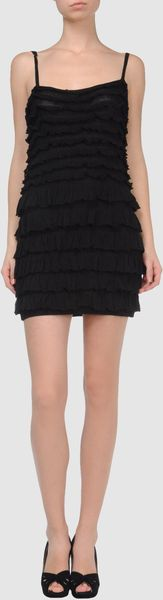 Laltramoda Short Dress - Lyst