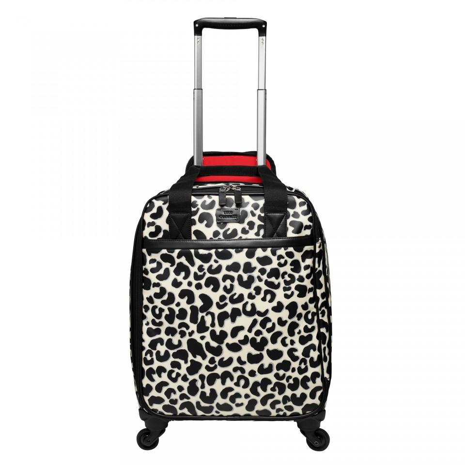 Hardside Spinner Luge Set In Pink Leopard Outdoor Zone Rakuten Global Market Suitcase Carry Hard Travel Bag
