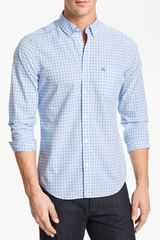 Burberry Brit Fred Gingham Check Poplin Sport Shirt - Lyst
