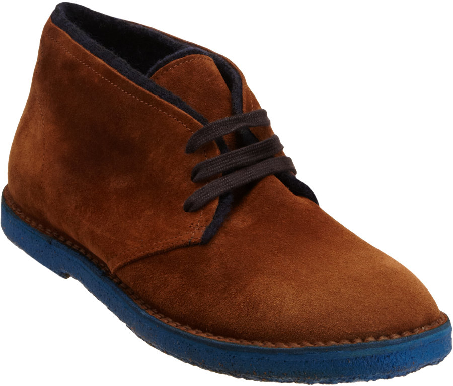 Buttero Lined Chukka Boot In Brown For Men Lyst