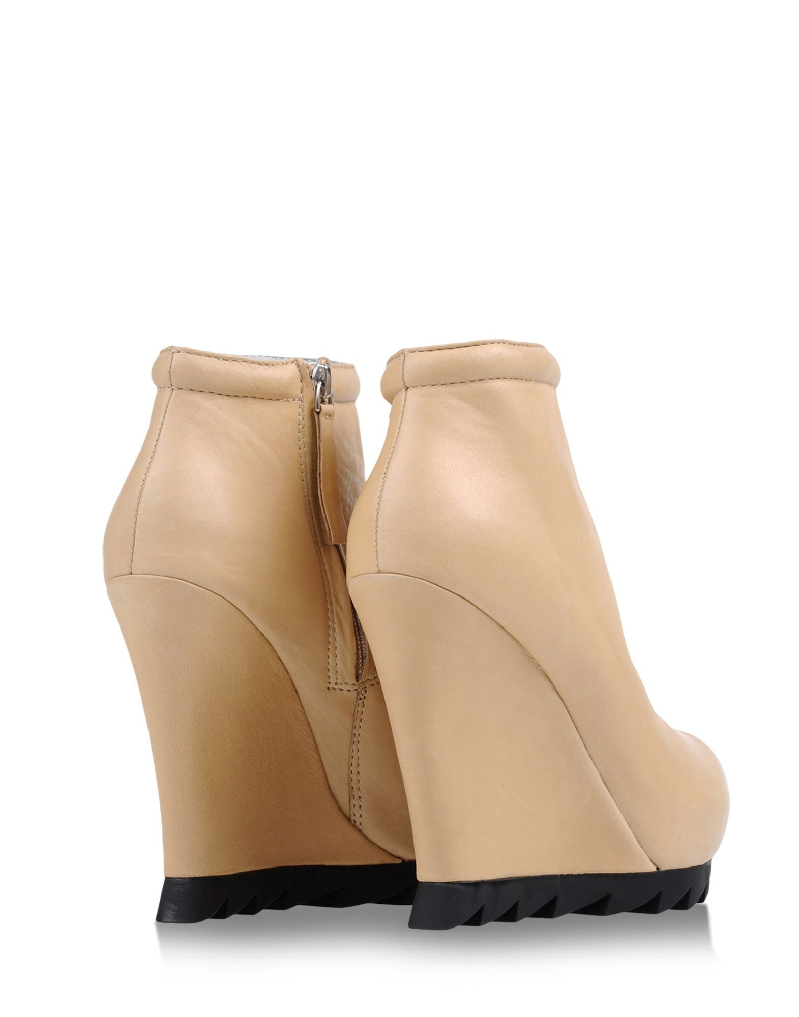 camilla skovgaard ankle boots in beige lyst. Black Bedroom Furniture Sets. Home Design Ideas