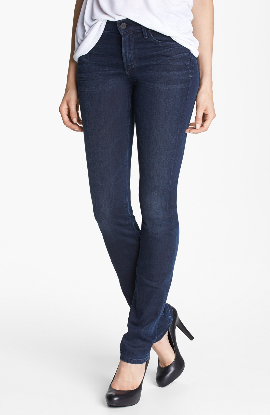 Citizens Of Humanity Ava Straight Leg Jeans in Blue (Palais Royal) | Lyst