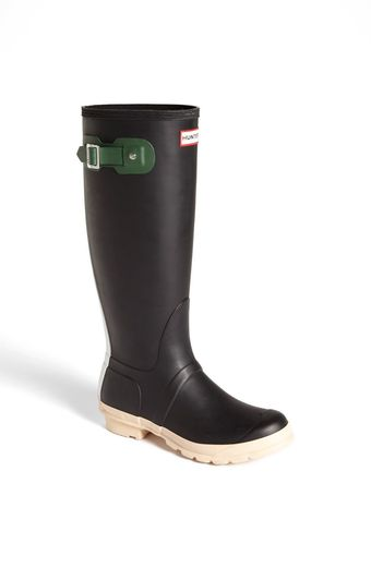 Hunter Original Contrast Waterproof Rain Boot - Lyst