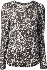 Isabel Marant Animal Print Top - Lyst