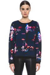 MSGM Check Sweater - Lyst