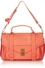 Proenza Schouler The Ps1 Medium Leather Satchel - Lyst
