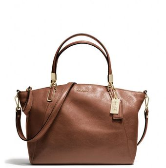 Coach Madison Small Kelsey Satchel in Leather - Lyst