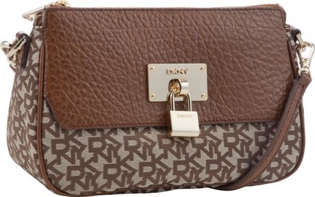 Dkny Beekman Top Zip Shoulder Bag Brown 82