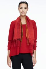 Eileen Fisher Merino Scoopneck Sweater - Lyst