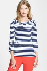 Kate Spade Wheaton Stretch Cotton Top - Lyst