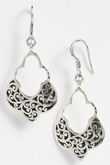 Lois Hill Large Open Drop Earrings - Lyst