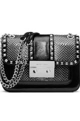 Michael by Michael Kors Small Sloan Studded Shoulder Flap Bag - Lyst