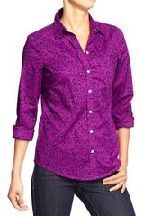 Old Navy Printed Shirts - Lyst