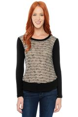 Splendid Fireside Crew Neck Top - Lyst