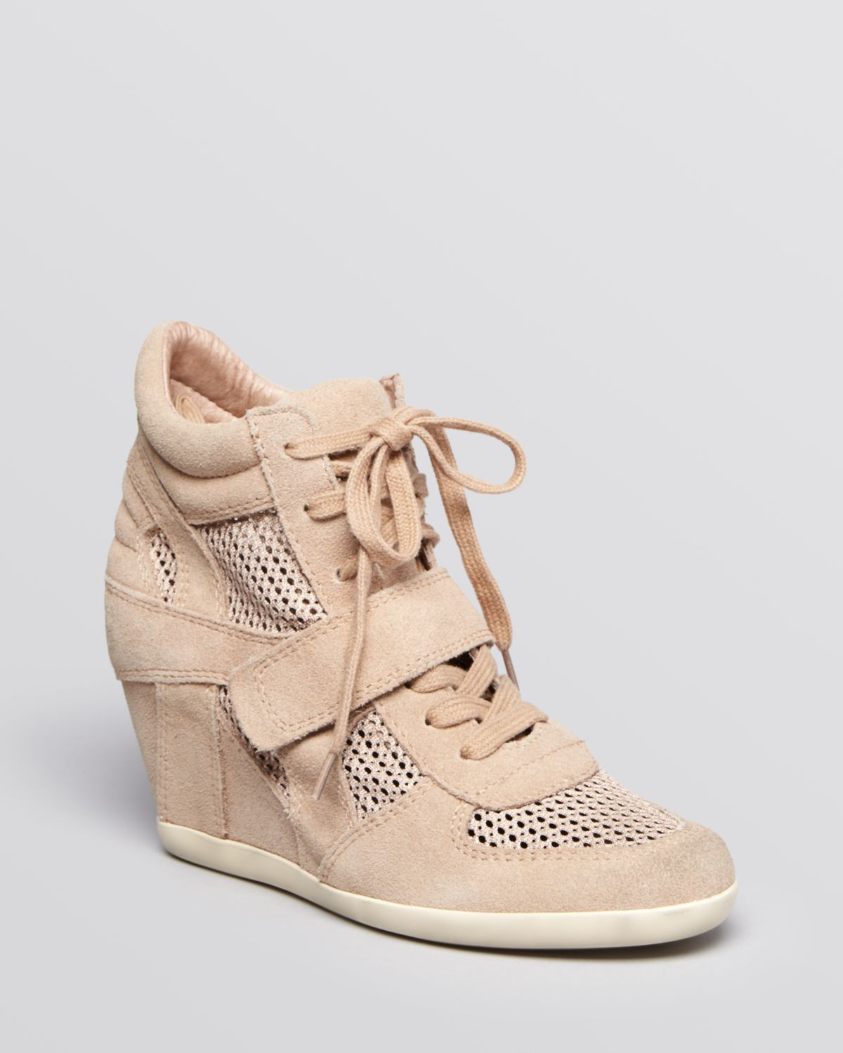 176edd4de59 Gallery. Previously sold at  Bloomingdale s · Women s Wedge Sneakers  Women s Ash Bowie ...